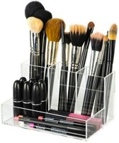 BO Brush Holder Make up organizer - Transparant Acryl