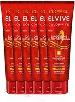 L'Oréal Paris Elvive Color Vive Haarcrème - 6 x 150 ml - Voordeelverpakking