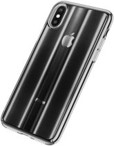 Baseus iPhone XR Patterned Glitter Hard Cover Case Black hoesje