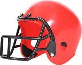 Helm American Football player rood kinderen