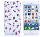 Gel print hoesje iPhone 6 Plus smart flowers