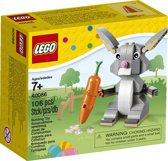 LEGO Paashaas met Wortel - 40086