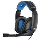 Sennheiser GSP 300 - Over-ear gaming headset - Zwart/Blauw