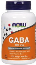 GABA 500mg Now Foods 100v-caps