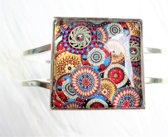 2 Love it RetroCirkel D - Armband - scharniersysteem - Multicolor