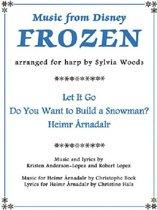 Music From Disney's Frozen For Harp