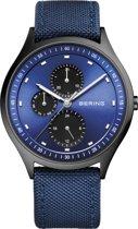 BERING 11741-827 - Horloge - Nylon - Zwart - Ø 41 mm