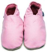 Inch Blue babyslofjes plain baby pink maat L (13,5 cm)