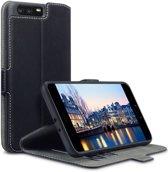 Huawei P10 Plus hoesje - CaseBoutique - Zwart - Kunstleer