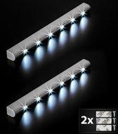 TecTake - 2* LED lichtlijst kastlicht onderbouw lichtbalk 401740