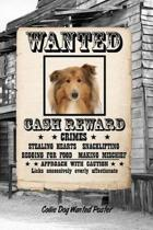 Collie Dog Wanted Poster