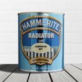 Hammerite Radiatorlak Gebroken Wit 250ML