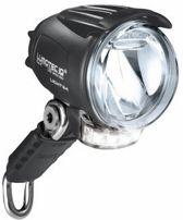 Busch & Müller - Lumotec IQ Cyo T - Fietskoplamp - 4 LED - Naafdynamo - 60 Lux - Zwart