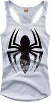 Merchandising SPIDERMAN - T-Shirt Top Tank Logo - GIRL (XL)