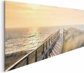 REINDERS Strandpad - Schilderij - 156x52cm