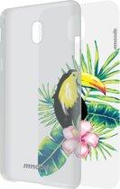 mmoods transparent cover met 1 insert Tropical -  voor Samsung J5 2017
