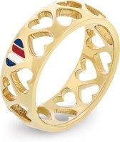 Tommy Hilfiger  TJ2701094 Ring  - Goudkleurig - maat 17.25