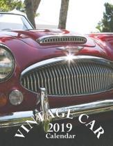 Vintage Car 2019 Calendar