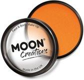 Moon Creations Schmink Pro Face Paint Cake Pots 36 Gram Helder Oranje