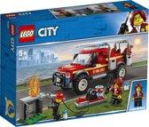 Afbeelding van LEGO City Reddingswagen van Brandweercommandant - 60231 speelgoed