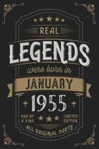 Real Legendes were born in Januar 1955