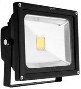 Avide LED Bouwlamp Zwart 220-240V 20W 4000K-4500K