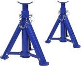 Proplus Assteunen 3 Ton Staal Blauw 2 Stuks