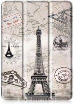 iPad Air 10.5 Hoes (2019) - Tri-Fold Book Case - Eiffeltoren