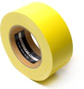 Gaffergear Gaffa tape 50mm x 25m geel