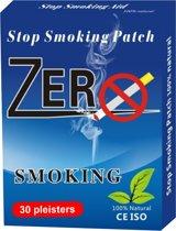 Zero Smoke Pleister - stoppen met roken - 30 stuks
