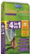 Viano new 4-in-1 10kg: indirecte werking tegen onkruid en mos in het gazon
