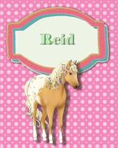 Handwriting and Illustration Story Paper 120 Pages Reid