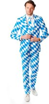 OppoSuits THE BAVARIAN SLIM FIT Kostuum Blauw