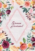 Sermon Journal Notebook