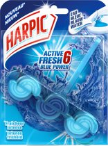 Harpic Active Fresh 6 – Blauw Water – Toiletblok – 1 stuk