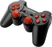 Esperanza Controller Corsair PC / Playstation 2 / Playstation 3 | Zwart Rood
