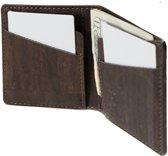 Corkor CK262C Slim Cork Coin Wallet with coin pocket inside