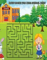 Maze Books for Kids School Zone