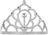 Tiara prinses zilver