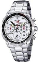 Festina F6836/1 Chronograaf - Horloge- Staal - Zilverkleurig - 47 mm