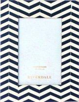 Riverdale Zigzag - Fotolijst - 10x15cm - zwart/nat.