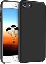 iPhone 7 / 8 Siliconen Hoesje Zwart Premium Cover Shockproof Case