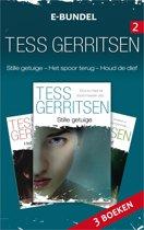 Tess Gerritsen e-bundel 2:  Stille getuige / Het spoor terug / Houdt de dief, 3-in-1