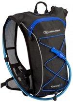 Highlander Backpack - Unisex - zwart/blauw
