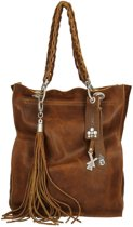 X works Sam shopper L cognac