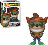 Pop Crash Bandicoot with Scuba Gear Vinyl Figure