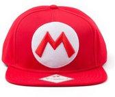 Nintendo - Pet - Mario Logo (Rood) - Snapback
