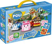Robocar Poli - 3-in-1 Box (Puzzel+Memo+Domino)
