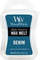 WoodWick wax melt Denim 3 stuks