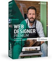 MAGIX Web Designer Premium - Nederlands / Engels / Frans - Windows